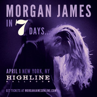 Morgan James - Highline Ballroom - NYC - 2015.