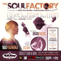 Soul Factory - BB Kings - NYC - Apr 2015