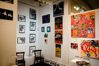 First Friday Pop Up Art Show & Music Showcase - Ward Nasse Gallery - SOHO NYC - May 2015