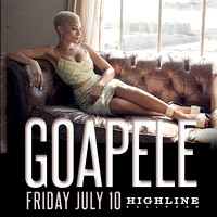 Goapele - Highline Ballroom - NYC - 2015