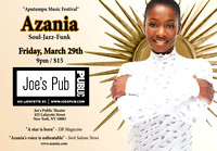 Azania Steady - Joes Pub - NYC - 2013