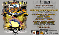 Rock Steady Crew 36 Year Anniversary Concert - Rumsey Playfield Central Park - NYC - 2013
