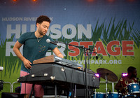 Taylor McFerrin w Marcus Gilmore - Soul Revue - Hudson River Stage - Pier 97 - NYC - 2016