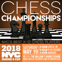 Mayors Cup - Chess - PS 11 - NYC - 2018