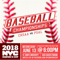 Mayors Cup Baseball - Jack Kaiser Stadium - Queens NYC - 2018
