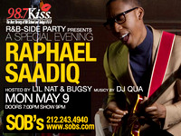 98.7 R&B Side Party f/ Raphael Saadiq - SOB's - NYC - 2011