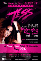 'The Name Is Tess' Listening Party - Stadium Red Studio - NYC - 2012