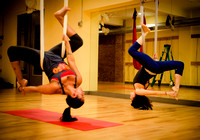 Aerial Yoga - Lifestyle Shoot - JaiPure Yoga - Montclair NJ - 2015