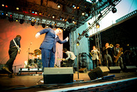 St. Paul and The Broken Bones - Damrosch Park Bandshell Lincoln Center - NYC - 2014
