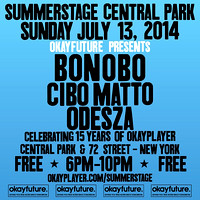 Bonobo w/ Cibo Matto & Odesza  - Rumsy Playfield - NYC - 2014