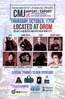 Import  Export International Hip Hop Showcase - Drom - NYC - 2013