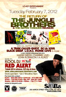 The Jungle Brothers w/ Native Tongue Reunion - SOBs - NYC - 2012