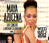 Maya Azucena Birthday Celebration w Rachel Brown - SOBs - NYC - 2012
