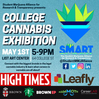 College Cannabis Exhibition - List Art Center - Brown University - Providence RI - 2018