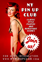 NY Pin Up Club - Circus Sideshow - Vintage Vanga Photography Studio - NYC - 2015