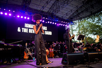 Igmar Thomas & The Revive Band f/ Esperanza Spalding - Rumsey Playfield - Central Park NYC - 2016