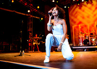 Amel Larrieux - Damrosch Park Bandshell Lincoln Center - NYC - 2014