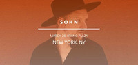 Sohn - Irving Plaza - NYC - 2017