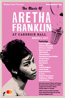 Tribute to Aretha Franklin - Carnegie Hall - NYC - 2017