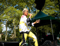 Madame Gandhi - Basement Bhangra 20th Anniversary - Central Park - NYC - 2017