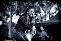 WBLS 6th Annual R&B Fest - Joi Starr - Rumesey Playfield Central Park - NYC - 2014