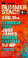 Hiatus Kaiyote, Jose James & Shuggie Otis - Summer Stage - Central Park - NYC - 2013