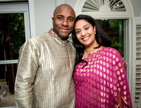 Khyaati and Joshua Ganesh Pooja - The Morar Home - Weatherford TX - 2017