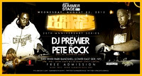 DJ Premier vs Pete Rock - East River Park - NYC - 2013
