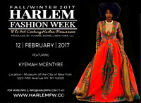 Harlem Fashion Week - Museum of the City of New York - NYC - 2017