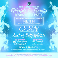 Friends and Family Brunch Day Party - Alvin and Friends - New Rochelle NY - 2018
