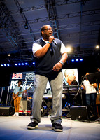WBLS 6th Annual R&B Fest - David Hollister - Rumesey Playfield Central Park - NYC - 2014